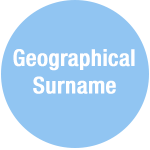 Geographical Sobriquets (Surname)